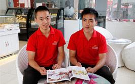 双胞胎兄弟创业回炉青岛新东方,只为让梦想