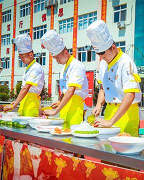 青岛新东方第二届烹饪技能创新大赛精彩剪