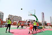 青岛新东方学生篮球赛决赛落幕