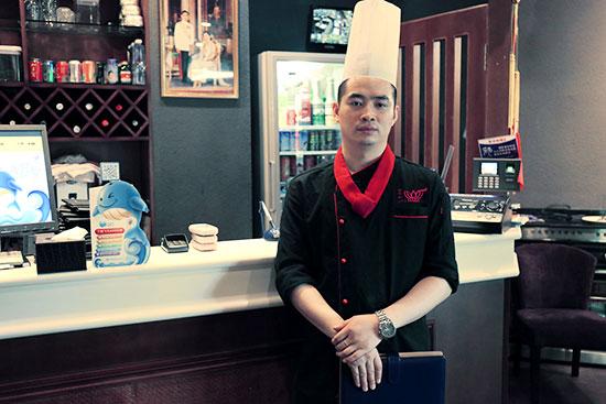 成功学子 殷志龙:万达荷花泰厨师长?