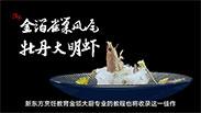 邵明秘制创意菜丨金箔雀巢凤尾大明虾