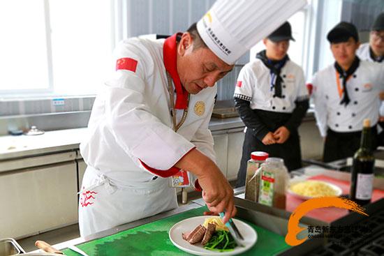 我的新年愿望:来青岛新东方做一名西餐大厨