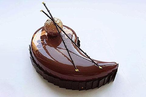 星空巧克力豹紋蛋糕