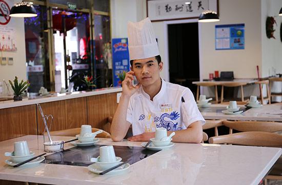 成功學子:范登志——行政總廚