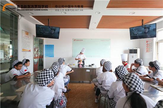 為什么說高中生來新東方烹飪學校學西點是來